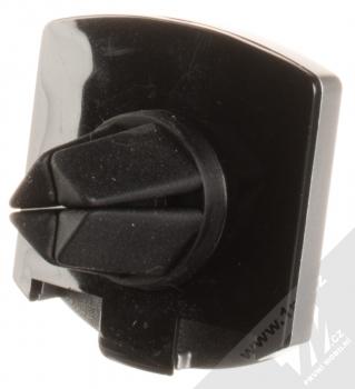 Cellularline Handy Force Drive magnetický univerzální držák do mřížky ventilace automobilu černá (black) stříbrný rámeček zezadu