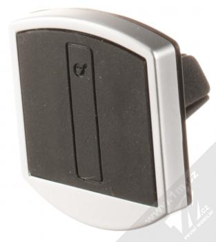 Cellularline Handy Force Drive magnetický univerzální držák do mřížky ventilace automobilu černá (black) stříbrný rámeček