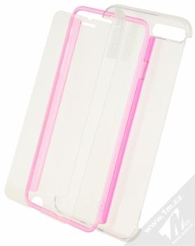 Celly Body360 ochranný kryt a tvrzené sklo pro Apple iPhone 7 Plus, iPhone 8 Plus růžová (pink)