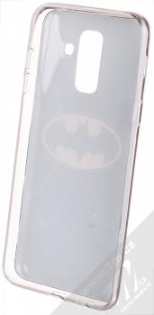 DC Comics Batman 003 TPU ochranný silikonový kryt s motivem pro Samsung Galaxy A6 Plus (2018) tmavě modrá (dark blue) zepředu