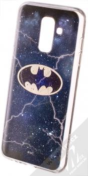 DC Comics Batman 003 TPU ochranný silikonový kryt s motivem pro Samsung Galaxy A6 Plus (2018) tmavě modrá (dark blue)