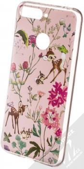 Disney Bambi a Přátelé 001 TPU ochranný silikonový kryt s motivem pro Huawei Y6 Prime (2018), Honor 7A světle růžová (light pink)