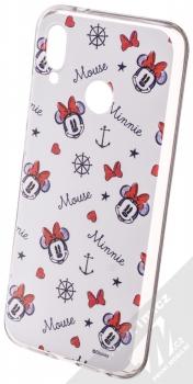 Disney Minnie Mouse 007 TPU ochranný silikonový kryt s motivem pro Huawei P20 Lite bílá (white)