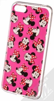 Disney Minnie Mouse 019 TPU ochranný silikonový kryt s motivem pro Huawei Y5 (2018), Honor 7S růžová (pink)