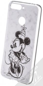 Disney Minnie Mouse 026 TPU ochranný silikonový kryt s motivem pro Huawei Y6 Prime (2018), Honor 7A bílá (white)