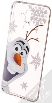 Disney Olaf 002 TPU ochranný silikonový kryt s motivem pro Huawei Mate 20 Lite průhledná (transparent)