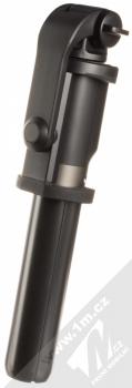 Dispho Selfie Stick Tripod selfie teleskopická tyč a univerzální stativ s bezdrátovým tlačítkem spouště přes Bluetooth černá (black) složené