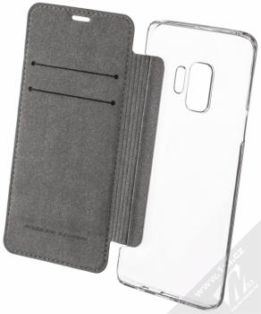 Ferrari On Track flipové pouzdro pro Samsung Galaxy S9 (FESURFLBKTS9BKR) černá (black) otevřené