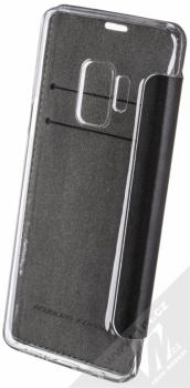 Ferrari On Track flipové pouzdro pro Samsung Galaxy S9 (FESURFLBKTS9BKR) černá (black) zezadu