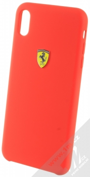 Ferrari Scuderia Silicone ochranný kryt pro Apple iPhone XS Max (FESSIHCI65RE) červená (red)
