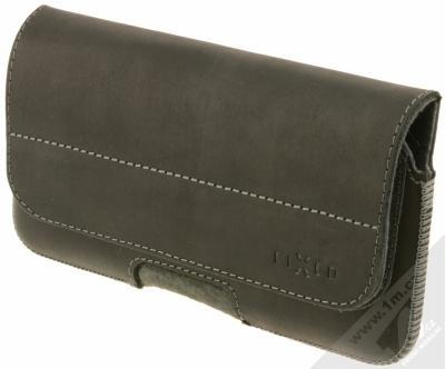 Fixed Posh 6XL horizontální pouzdro na opasek pro mobilní telefon, mobil, smartphone (FIXPOHP-001-6XL) černá (black)