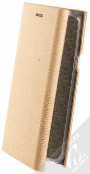 Forcell Bravo Book flipové pouzdro pro Samsung Galaxy S9 zlatá (gold)