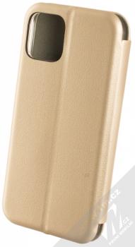 Forcell Elegance Book flipové pouzdro pro Apple iPhone 11 Pro zlatá (gold) zezadu