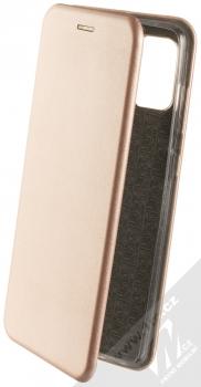 Forcell Elegance Book flipové pouzdro pro Samsung Galaxy A71 růžově zlatá (rose gold)
