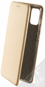 Forcell Elegance Book flipové pouzdro pro Samsung Galaxy A71 zlatá (gold)