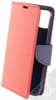 Forcell Fancy Book flipové pouzdro pro Apple iPhone 11 červená modrá (red blue)
