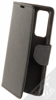 Forcell Fancy Book flipové pouzdro pro Huawei P40 černá (black)