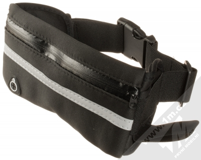 Forcell Fit Slim Multi sportovní pouzdro na pas pro mobilní telefon, mobil, smartphone černá (black)