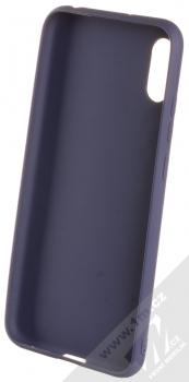 Forcell Jelly Matt Case TPU ochranný silikonový kryt pro Huawei Y6 (2019) tmavě modrá (dark blue) zepředu
