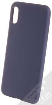 Forcell Jelly Matt Case TPU ochranný silikonový kryt pro Huawei Y6 (2019) tmavě modrá (dark blue)