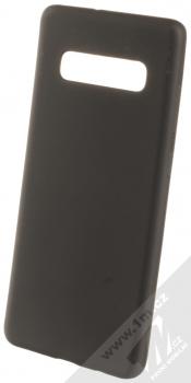 Forcell Jelly Matt Case TPU ochranný silikonový kryt pro Samsung Galaxy S10 Plus černá (black)