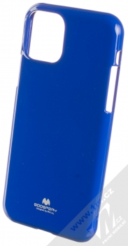Goospery Jelly Case TPU ochranný silikonový kryt pro Apple iPhone 11 Pro tmavě modrá (dark blue)