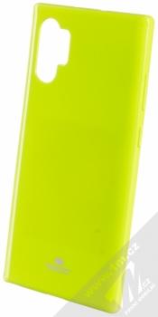 Goospery Jelly Case TPU ochranný silikonový kryt pro Samsung Galaxy Note 10 Plus limetkově zelená (lime green)