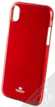 Goospery Jelly Case TPU ochranný silikonový kryt pro Apple iPhone XR červená (red)