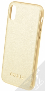 Guess IriDescent Hard Case ochranný kryt pro Apple iPhone X, iPhone XS (GUHCPXIGLGO) zlatá (all gold)