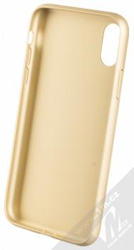 Guess Kaia ochranný kryt pro Apple iPhone X, iPhone XS (GUHCPXKASABK) černá (black) zepředu