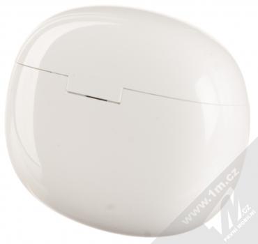 Guess TrueWireless Bluetooth Earbuds módní stereo sluchátka (GUTWS1CWH) bílá (white) nabíjecí pouzdro zezadu