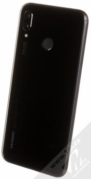 HUAWEI P20 LITE černá (midnight black) šikmo zezadu