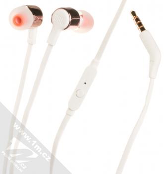 JBL TUNE 210 headset stereo sluchátka bílá růžově zlatá (white rose gold)
