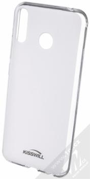 Kisswill TPU Open Face silikonové pouzdro pro Asus ZenFone 5 2018 (ZE620KL) bílá průhledná (white)