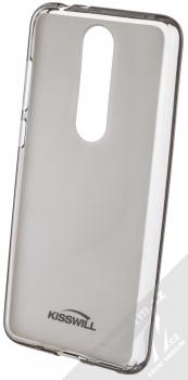 Kisswill TPU Open Face silikonové pouzdro pro Nokia 5.1 Plus černá průhledná (black)