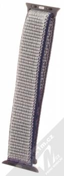 Maikes Nylon Strap textilní pásek na zápěstí pro Apple Watch 38mm, Watch 40mm tmavě modrá (dark blue)