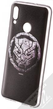 Marvel Black Panther 013 TPU ochranný silikonový kryt s motivem pro Huawei P Smart (2019) černá (black)