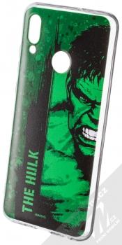 Marvel Hulk 001 TPU ochranný silikonový kryt s motivem pro Huawei P Smart (2019) zelená (green)