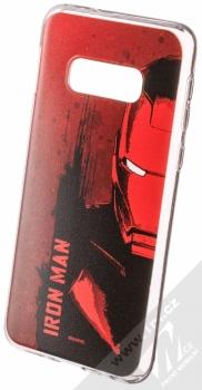 Marvel Iron Man 004 TPU ochranný silikonový kryt s motivem pro Samsung Galaxy S10e červená (red)