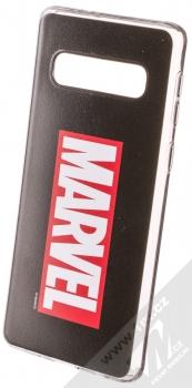 Marvel Logo 001 TPU ochranný silikonový kryt s motivem pro Samsung Galaxy S10 černá (black)