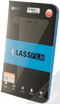 Mocolo Premium 5D Tempered Glass ochranné tvrzené sklo na kompletní displej pro Xiaomi Redmi 7 černá (black) krabička