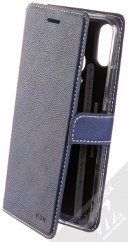 Molan Cano Issue Diary flipové pouzdro pro Huawei Nova 3i tmavě modrá (navy blue)