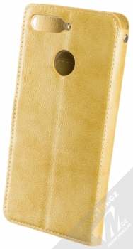 Molan Cano Issue Diary flipové pouzdro pro Huawei Y6 Prime (2018), Honor 7A zlatá (gold) zezadu