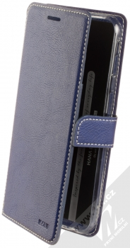 Molan Cano Issue Diary flipové pouzdro pro Samsung Galaxy J4 Plus (2018) tmavě modrá (navy blue)