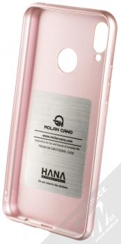 Molan Cano Jelly Case TPU ochranný kryt pro Huawei Nova 3i růžově zlatá (rose gold) zepředu