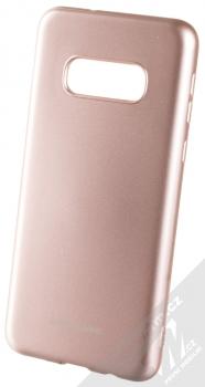 Molan Cano Jelly Case TPU ochranný kryt pro Samsung Galaxy S10e růžově zlatá (rose gold)
