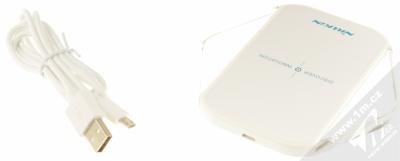 Nillkin Magic Cube Wireless Charger základna s Qi bezdrátovým nabíjením pro mobilní telefon, mobil, smartphone, tablet bílá (white) balení