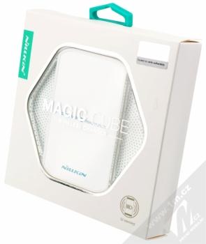 Nillkin Magic Cube Wireless Charger základna s Qi bezdrátaduaovým nabíjením pro mobilní telefon, mobil, smartphone, tablet bílá (white) krabička