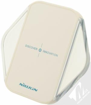 Nillkin Magic Cube Wireless Charger základna s Qi bezdrátovým nabíjením pro mobilní telefon, mobil, smartphone, tablet bílá (white)