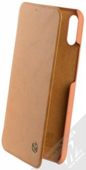 Nillkin Qin flipové pouzdro pro Huawei Nova 3i hnědá (brown)